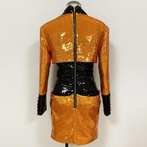 Sequins-Blazer-Dress-K706-4