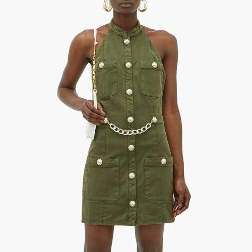 Sexy-Off-Shoulder-Halter-Blazer-Mini-Dress-K701-5
