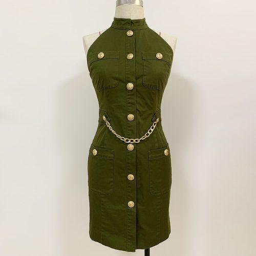 Sexy-Off-Shoulder-Halter-Blazer-Mini-Dress-K701-6