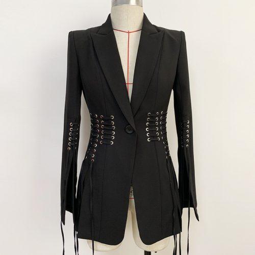 Slit-Sleeve-Ribbon-Blazer-K689-6