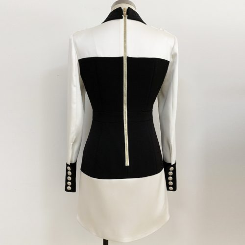 Splicing-Bodycon-Mini-Dress-K691-3