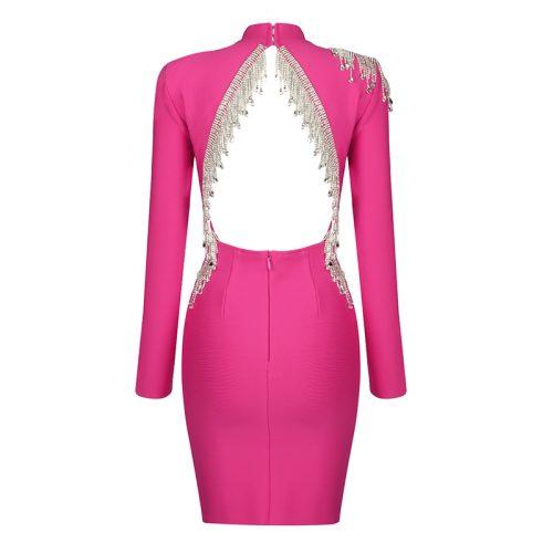 Crystal-Beading-Fringe-Backless-Bandage-Dress-K811-23