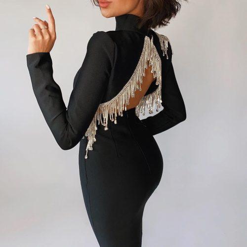 Crystal-Beading-Fringe-Backless-Bandage-Dress-K811-25