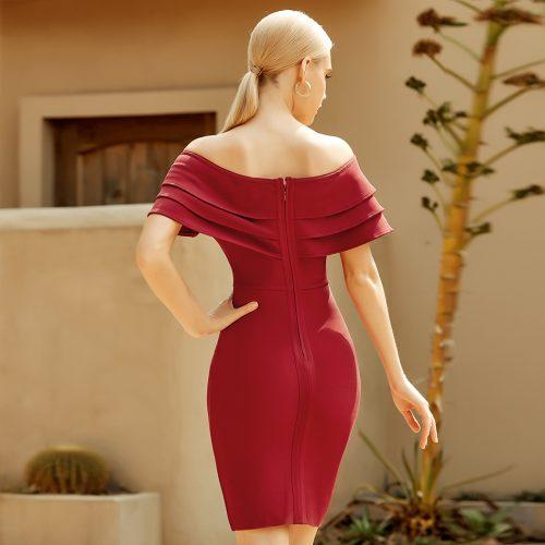 Flounce-Off-Shoulder-Bandage-Dress-K965-2
