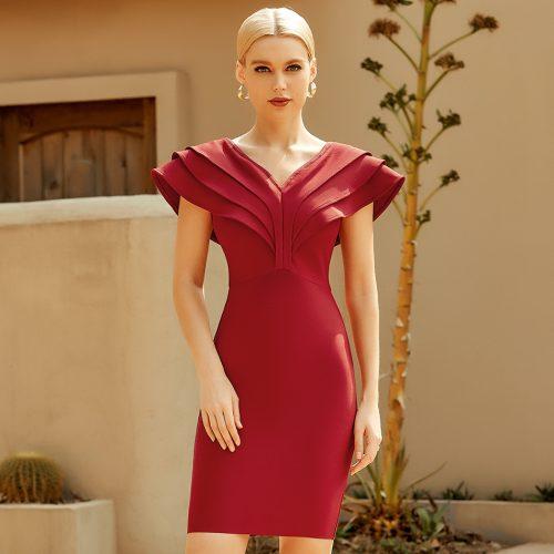 Flounce-Off-Shoulder-Bandage-Dress-K965-5