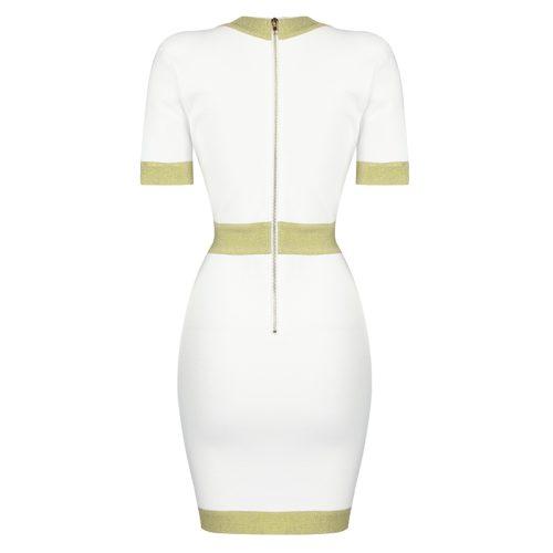 Golden-Silk-Short-Sleeve-Bandage-Dress-K821-30