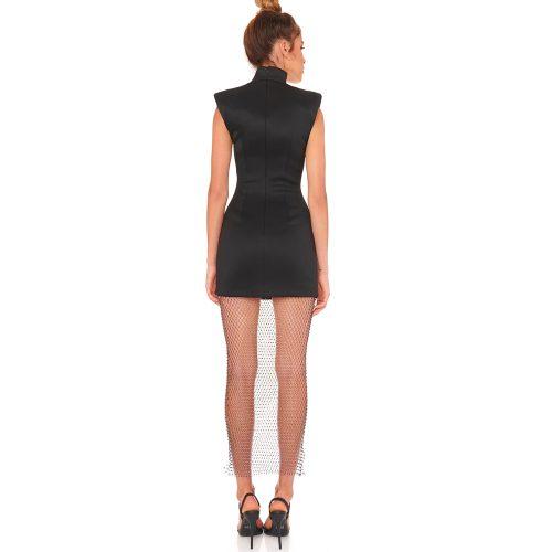 Gridding-Blink-Hemline-Bandage-Dress-K882-3_副本