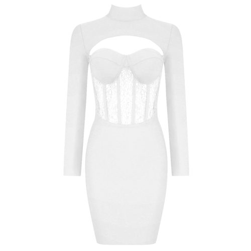 Hollow-Out-Lace-Gauze-Bandage-Dress-K82235