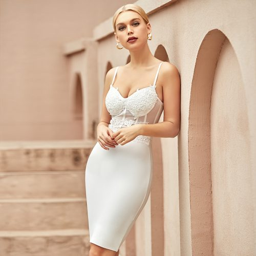 Lace-Strap-Bandage-Dress-K963-4