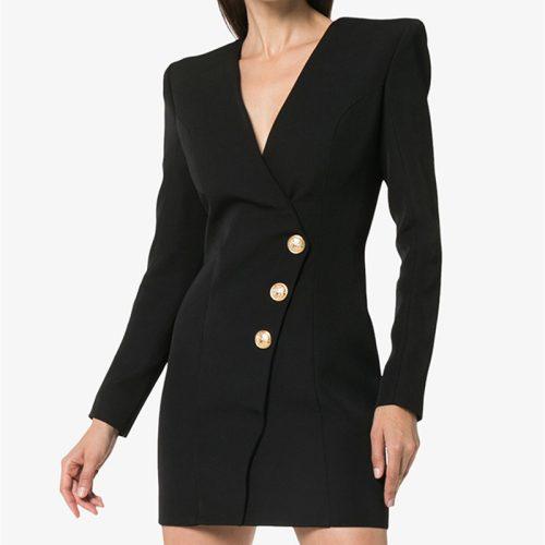 Ladies-V-Neck-Mini-Dress-k861-14