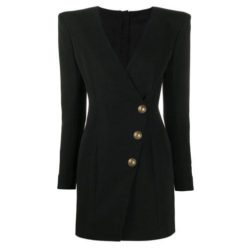 Ladies-V-Neck-Mini-Dress-k861-18