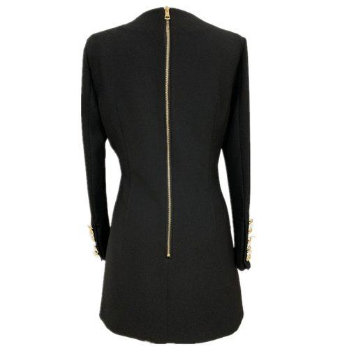 Ladies-V-Neck-Mini-Dress-k861-20