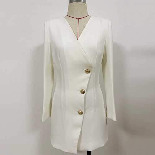 Ladies-V-Neck-Mini-Dress-k861-21