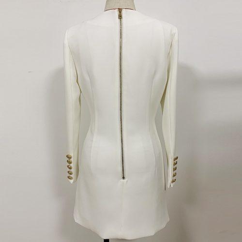 Ladies-V-Neck-Mini-Dress-k861-22