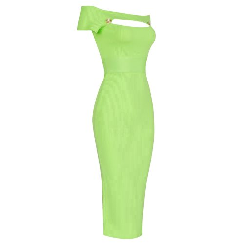 Light-Green-Bandage-Dress-K1007-15