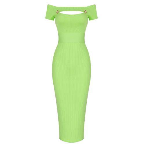 Light-Green-Bandage-Dress-K1007-16