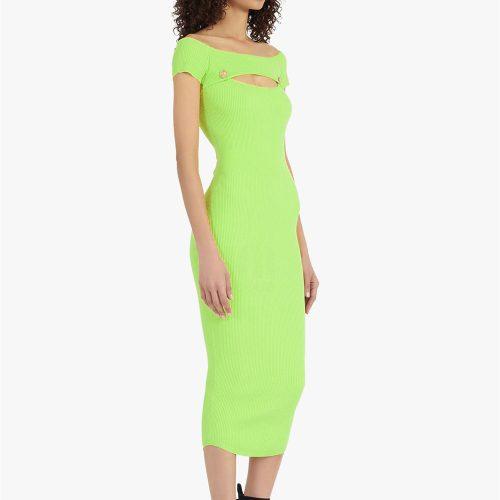 Light-Green-Bandage-Dress-K1007-3_副本