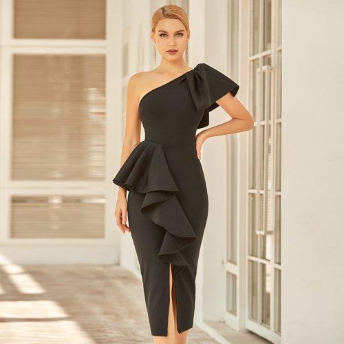 Off-Shoulder-Flouncing-Bandage-Dress-K970-5