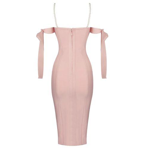 Pearl-Strap-Bandage-Dress-K813-5