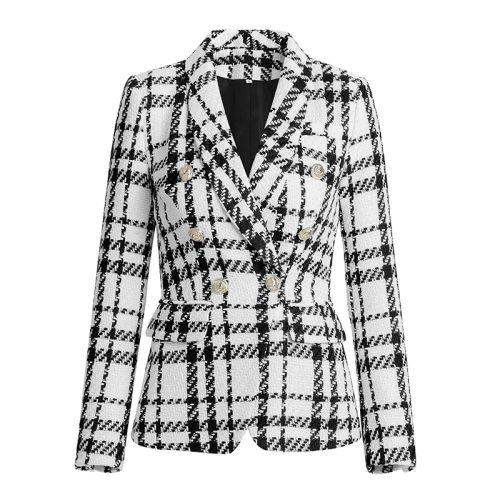 Plaid-Ladies-Suit-K863-4