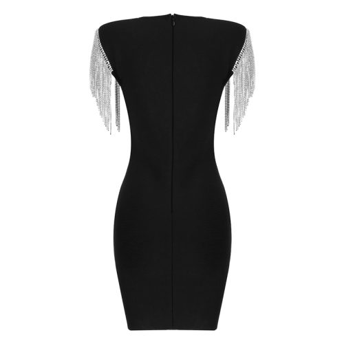 Rhinestone-Tassel-Sleeve-Bandage-Dress-K1006-18