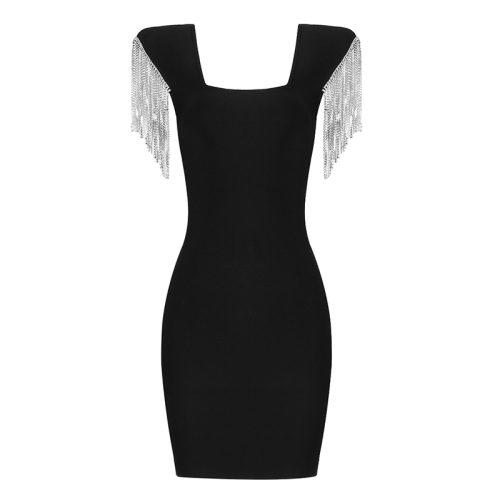Rhinestone-Tassel-Sleeve-Bandage-Dress-K1006-20