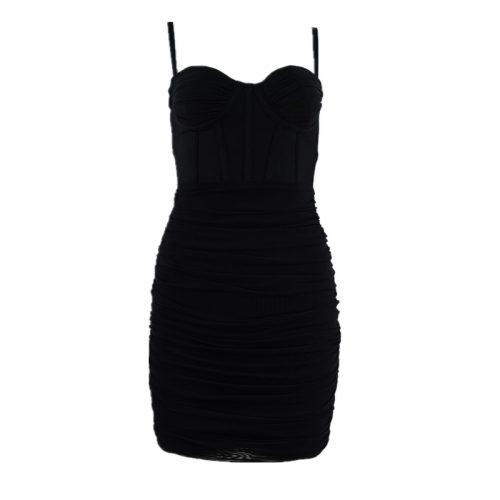 Ruched-Mesh-Bandage-Dress-K951-1