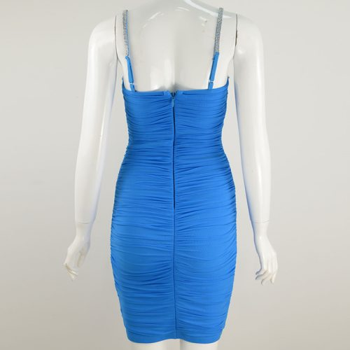 Ruched-Mesh-Strap-Bandage-Dress-K799-3_副本