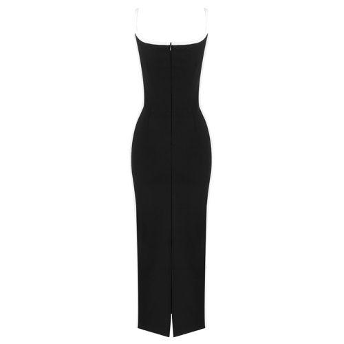 Sexy-Strap-Long-Bandage-Dress-K814-3