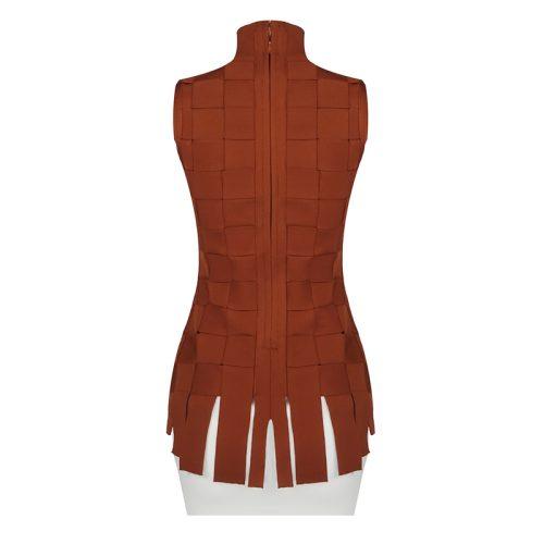 Stripe-Knitted-Bandage-Dress-K812-4