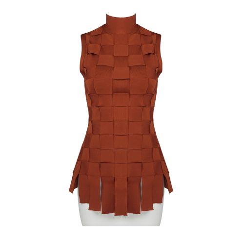 Stripe-Knitted-Bandage-Dress-K812-6