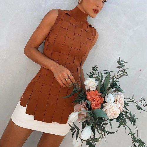Stripe-Knitted-Bandage-Dress-K812-9_副本