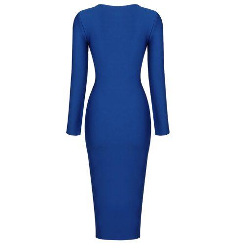 Zipper-Long-Sleeve-Bandage-Dress-K820-20