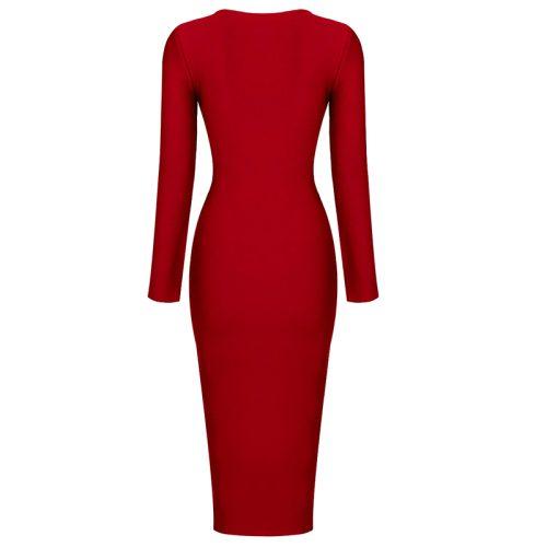 Zipper-Long-Sleeve-Bandage-Dress-K820-31