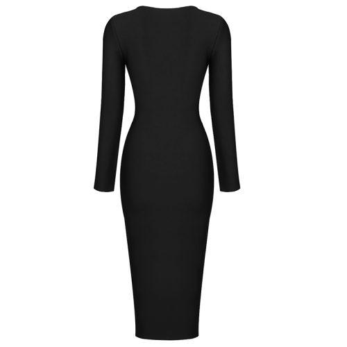 Zipper-Long-Sleeve-Bandage-Dress-K820-41