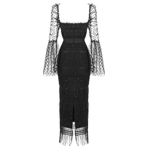 Gauze-Pleated-Sequins-Dress-K1023-18