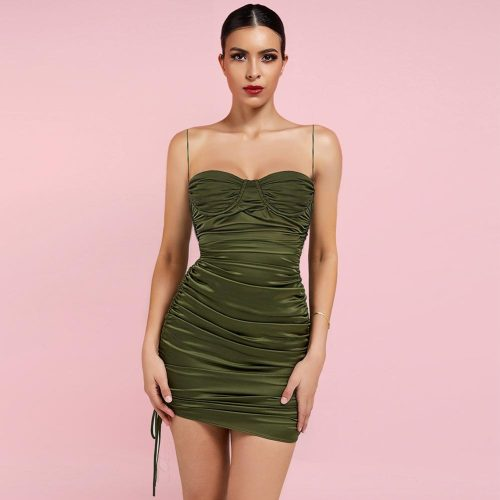 Lace-up-Ruched-Mini-Bodycon-Dress-K1049-17