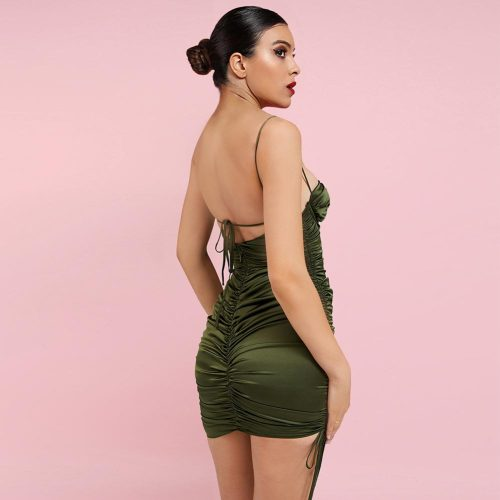 Lace-up-Ruched-Mini-Bodycon-Dress-K1049-19