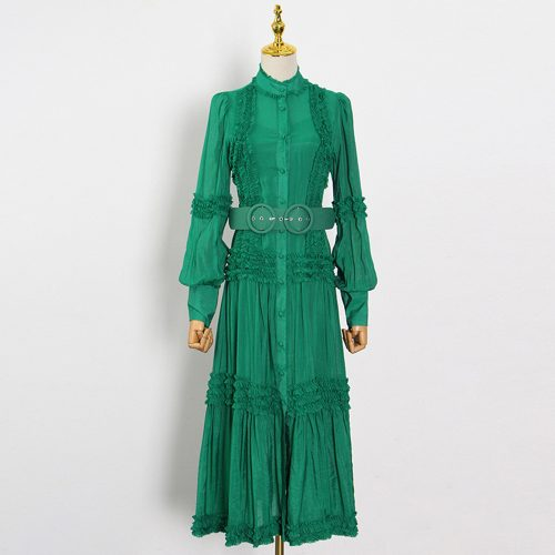 Lantern-Sleeve-Lace-Dress-K1028-