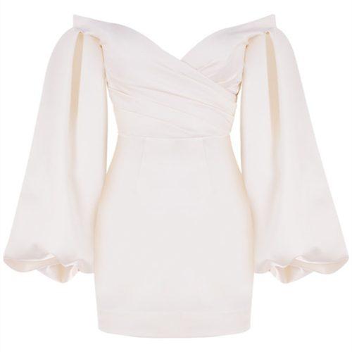 Off-Shoulder-Puff-Sleeve-Dress-K1039-13_副本
