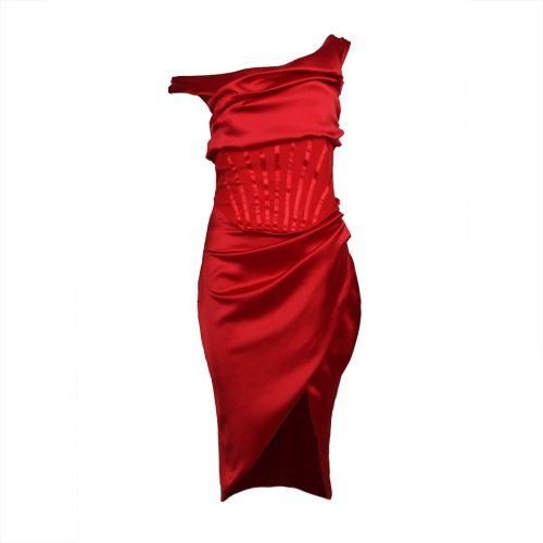 One-Shoulder-Wrinkle-Dress-K1015-37