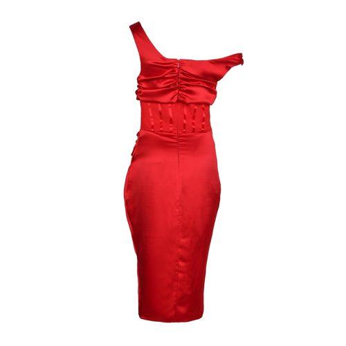 One-Shoulder-Wrinkle-Dress-K1015-38