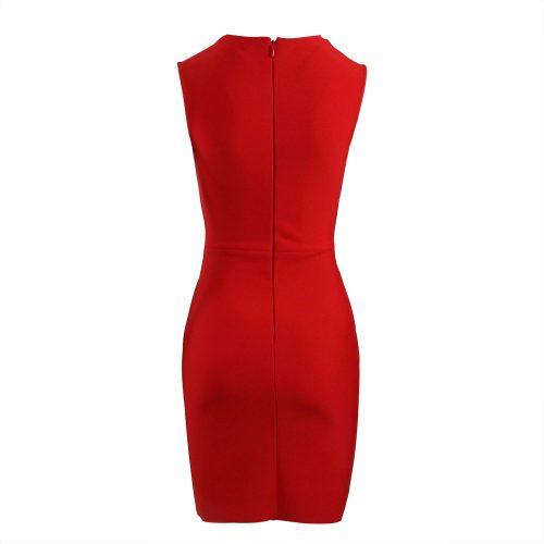 Sleeveless-Deep-V-Bandage-Dress-K1017-2