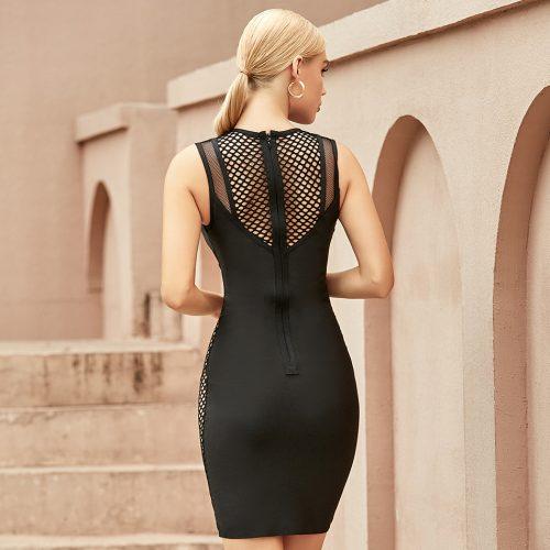 Deep-V-Hollow-Out-Bandage-Dress-K1066-1