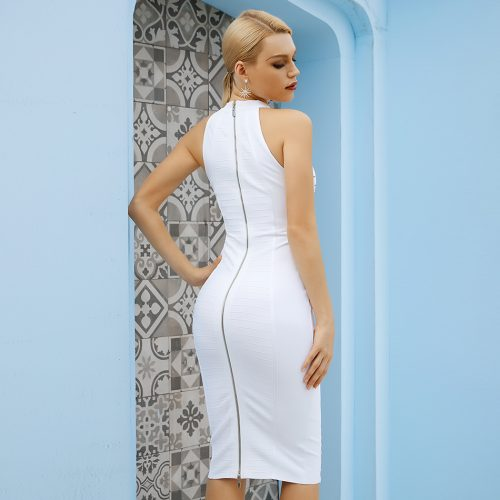Halter-Sleeveless-Bandage-Dress-K1092-3
