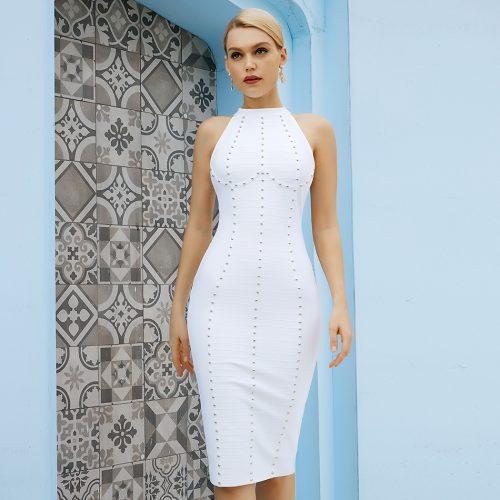 Halter-Sleeveless-Bandage-Dress-K1092-4