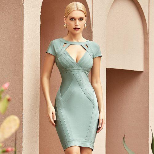 Hollow-Out-Bandage-Dress-K1094-2