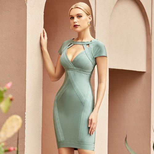 Hollow-Out-Bandage-Dress-K1094-6
