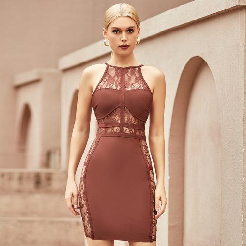 Lace-Halter-Bandage-Dress-K1093-2