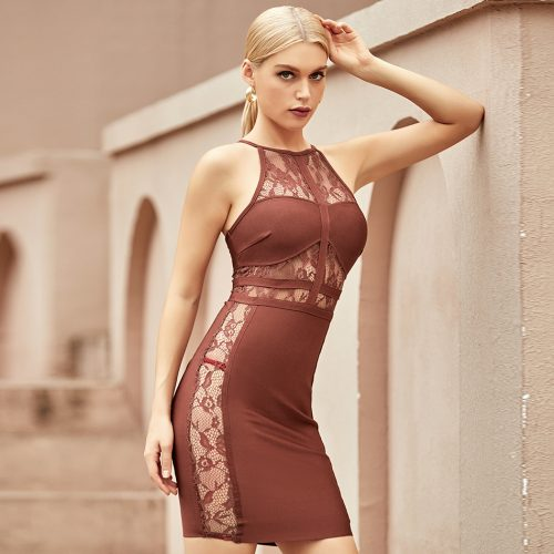 Lace-Halter-Bandage-Dress-K1093-6